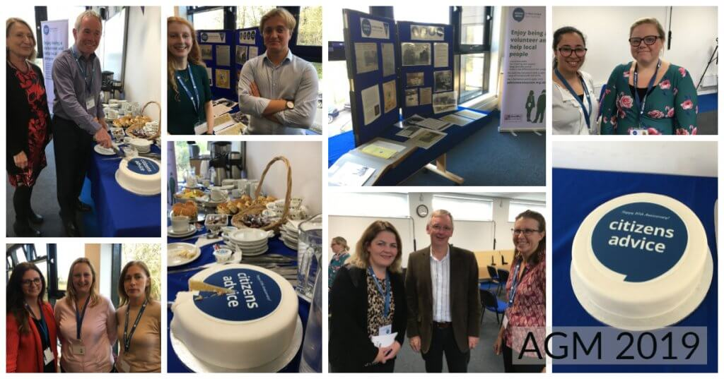Photo collage from AGM 2019