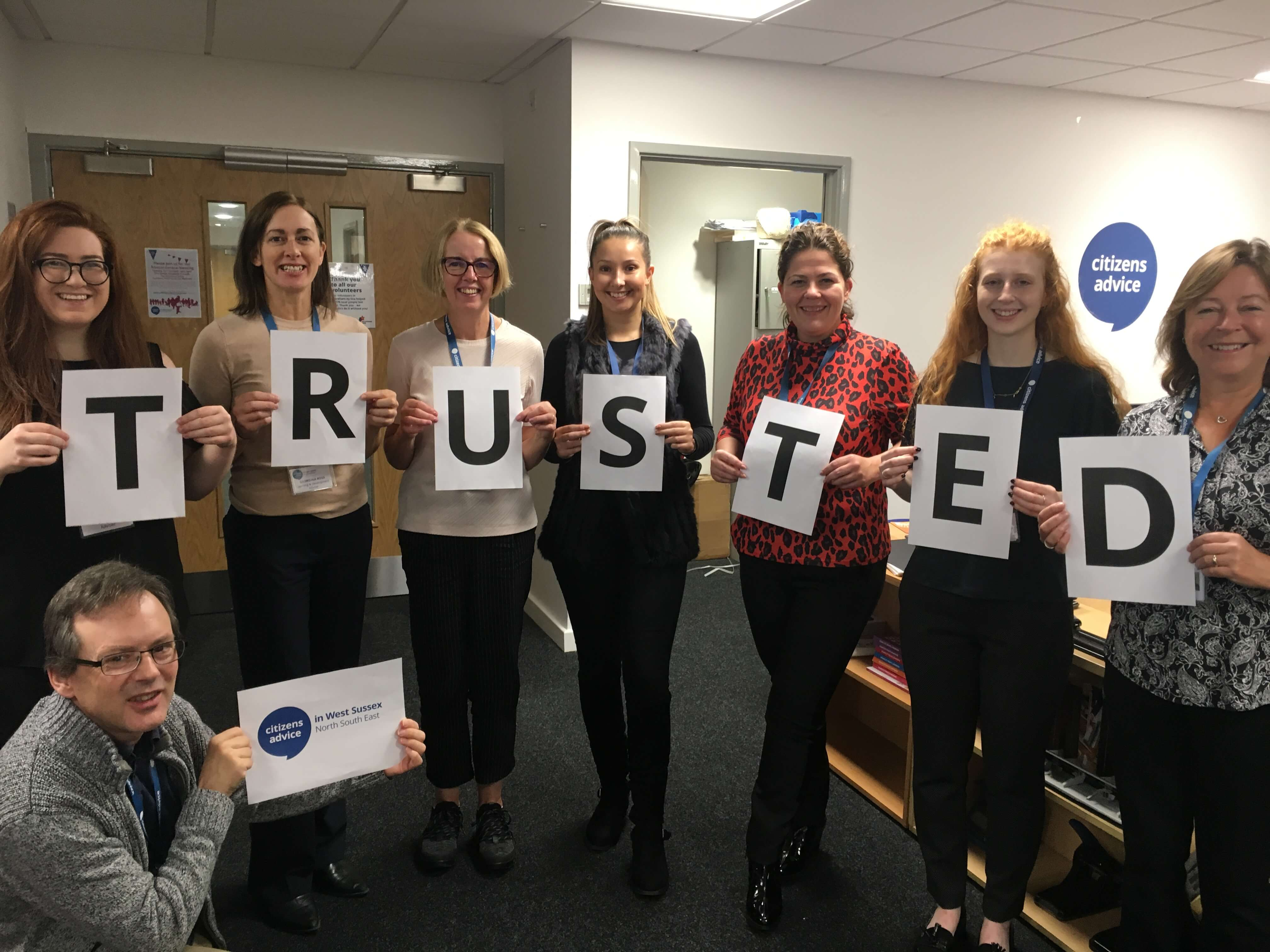 We've achieved Trusted Charity Mark status!