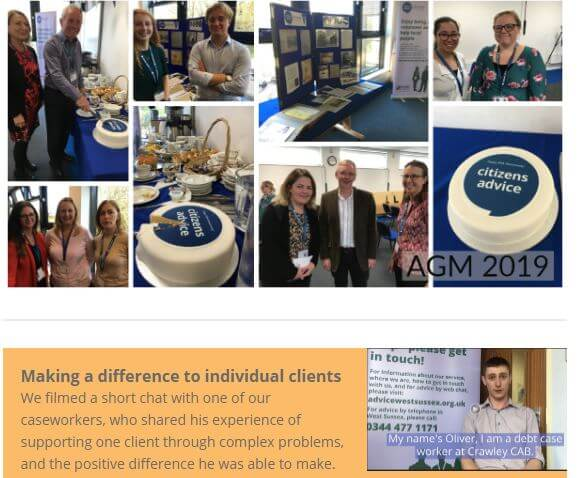 Our November 2019 newsletter – Our new benefit checker, hear from one of our caseworkers, new CEO and more