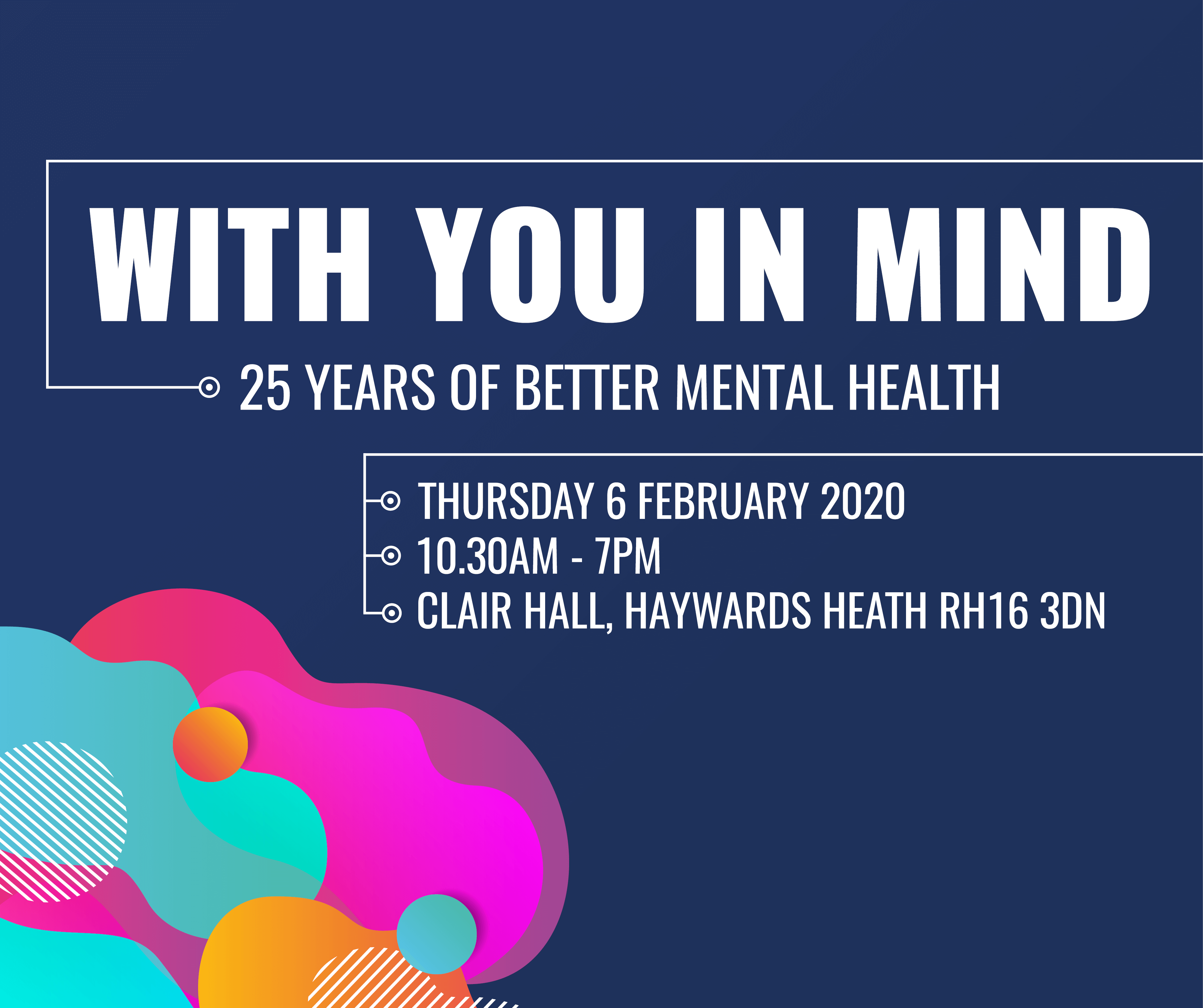 With You In Mind event: February 6th 2020