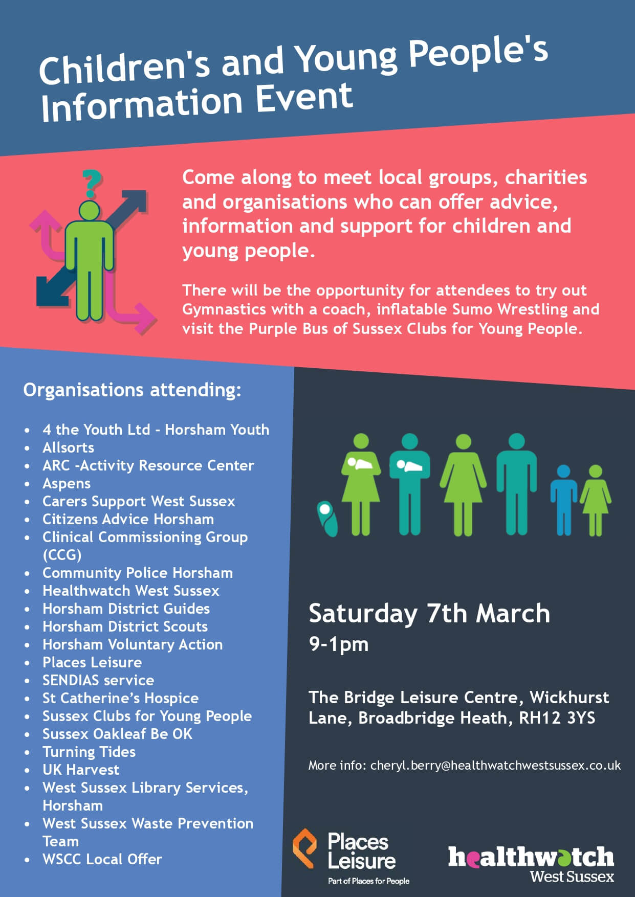 Children's and Young People's Information Event – Saturday, 7 March