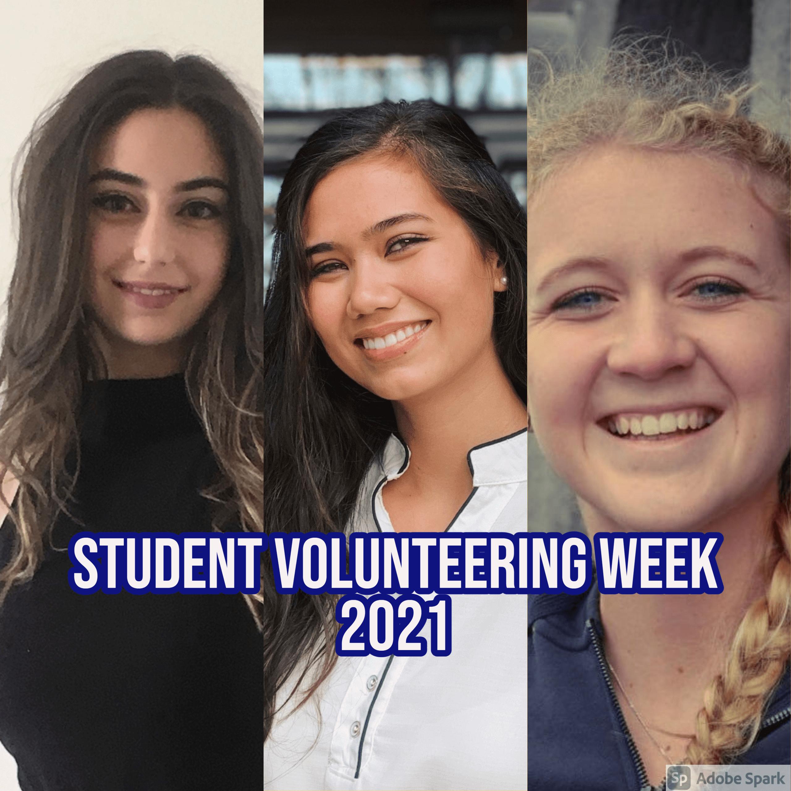 Celebrating Student Volunteering Week 2021