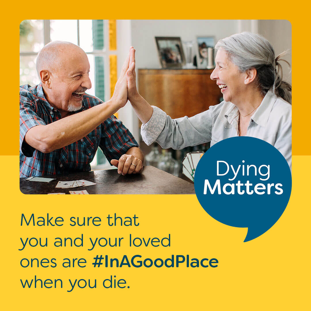 Practical information to help when someone dies: webinar