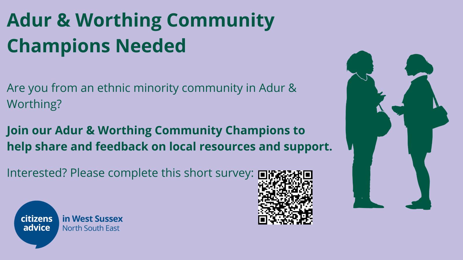 Adur & Worthing Community Champions