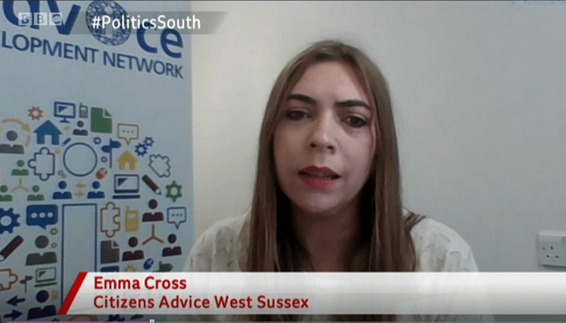 BBC Politics South: our CEO Emma Cross discusses end of eviction ban