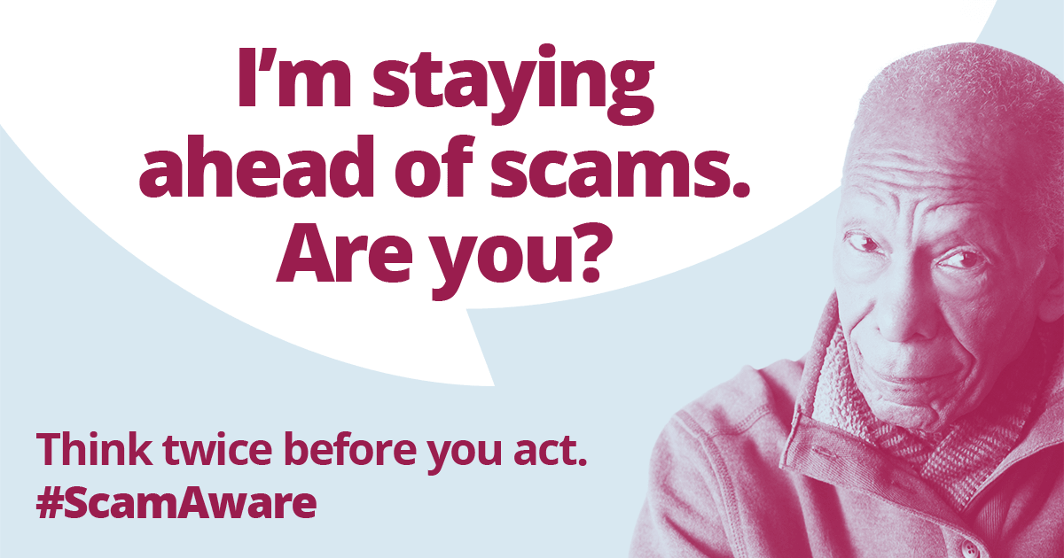 Scams Awareness 2021 – spot, avoid and report scams