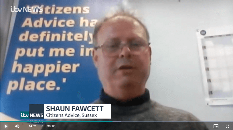 ITV Meridian: Shaun discusses Financial Ombudsman rule