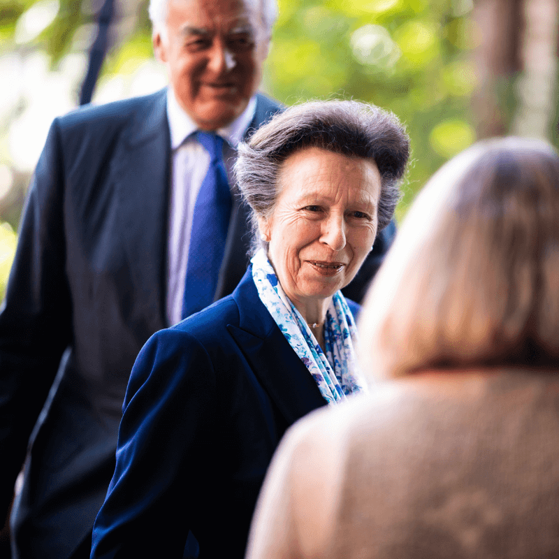 HRH The Princess Royal Meets Staff and Volunteers at our Horsham Office