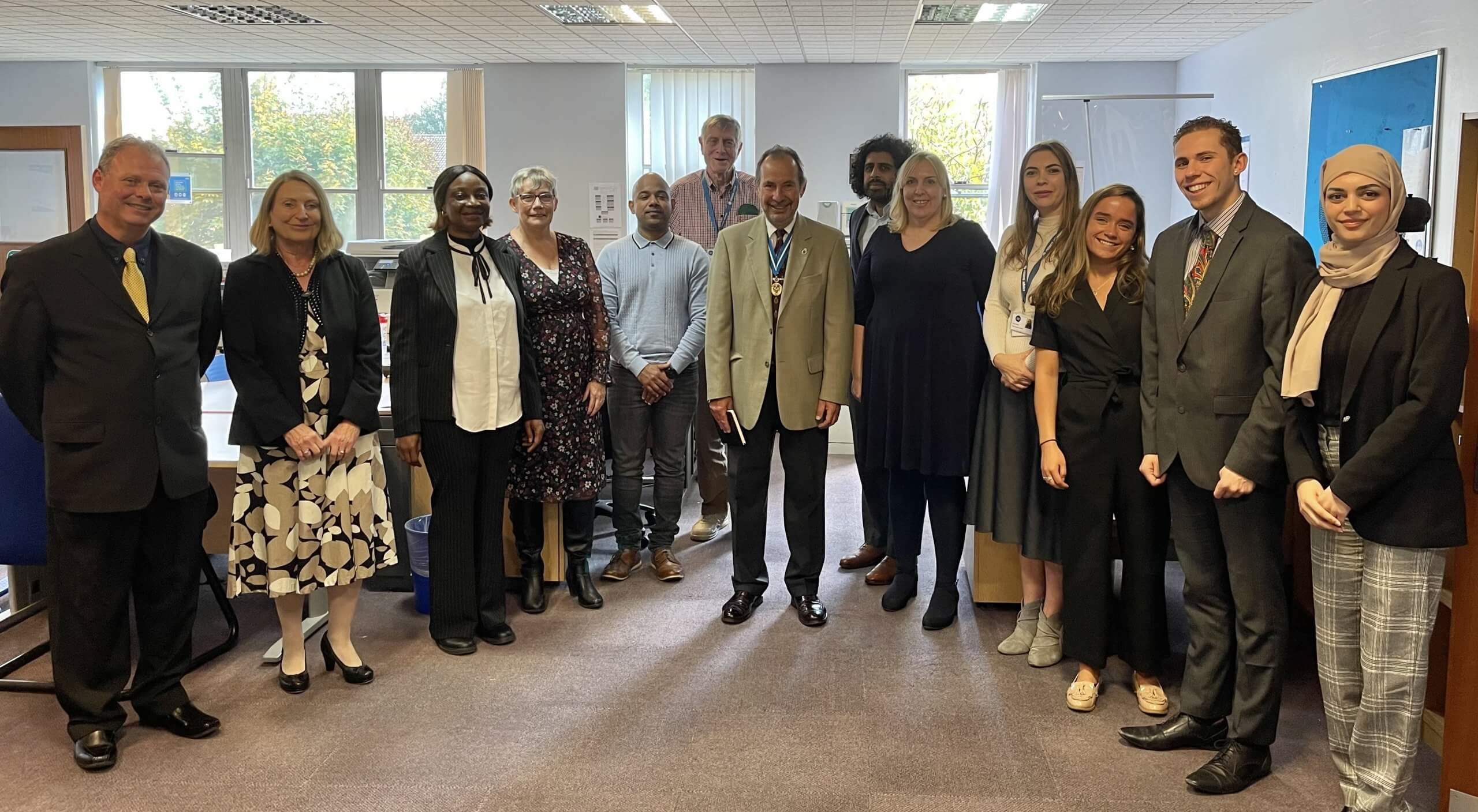 High Sheriff of West Sussex recognises hard work of volunteers