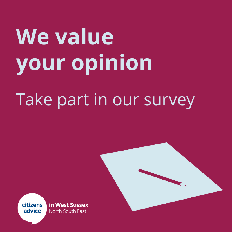 Are you a client or friend of CAWS? Take part in our survey